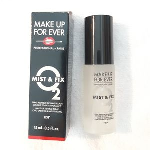 Makeup Forever Mist and Fix Sample Size .5 oz